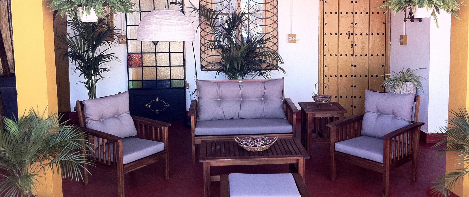 Terraza Solarium B&B Naranjo Sevilla