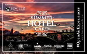 Summer Hotel Card 86x54mm Hoteles